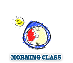 Morning Class from 8:30am 11:30am